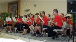 Members of the Ayr Paris Band entertained.